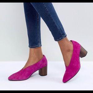 Vagabond Eve High Ramp Wooden Heel Shoe